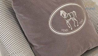 Fendi Cushion